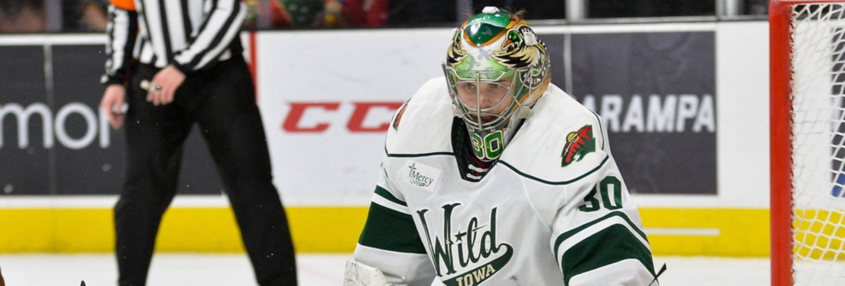 IOWA WILD RECALLS GOALTENDER CJ MOTTE FROM ALLEN