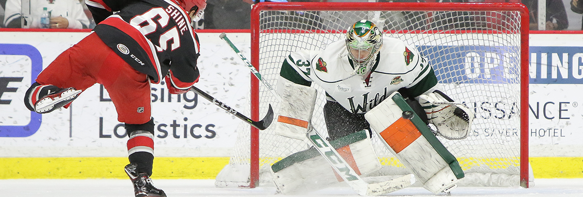 IOWA WILD REASSIGNS GOALTENDER CJ MOTTE TO ALLEN
