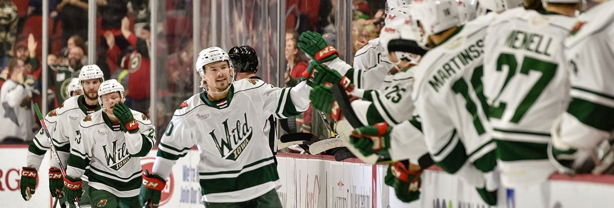 ROOKIES INSTRUMENTAL IN IOWA WILD'S EARLY SEASON SUCCESS