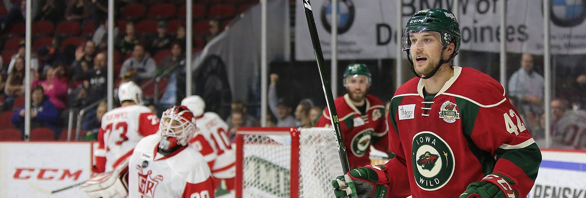 MINNESOTA WILD RE-SIGNS FORWARD KYLE RAU TO A TWO-YEAR, TWO-WAY CONTRACT