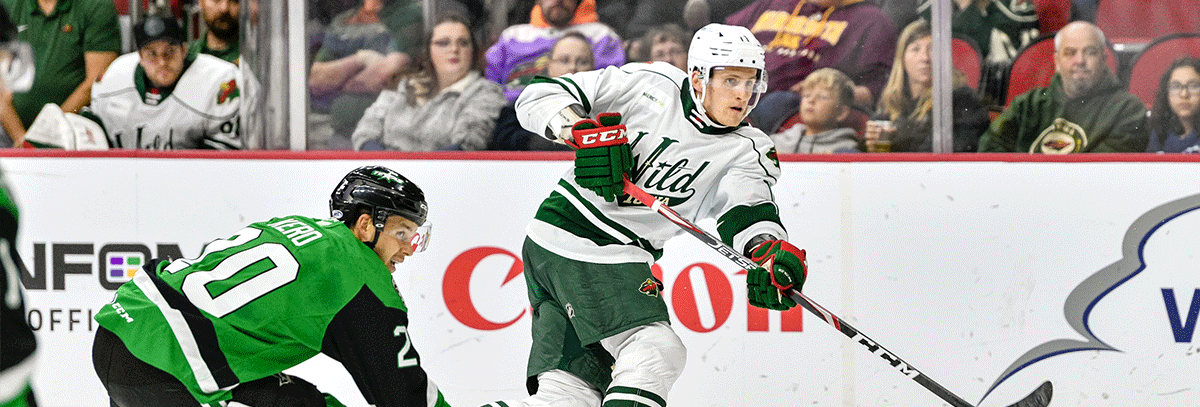 MINNESOTA WILD RECALLS GREG PATERYN, NICO STURM FROM IOWA