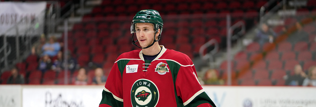 IOWA WILD REASSIGNS FORWARD JACK WALKER TO RAPID CITY