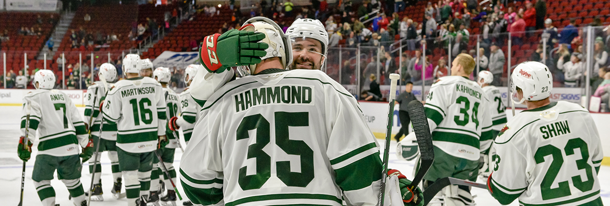 ANDREW HAMMOND BRINGS EXPERIENCE, STABILITY TO IOWA WILD