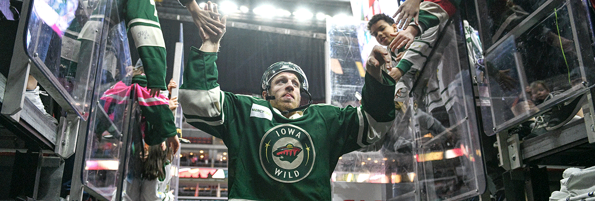 WILD PREACHING FOCUS, CONSISTENCY IN THE MIDST OF PLAYOFF PUSH