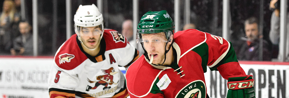 WILD FACES BIGGEST CHALLENGE OF SEASON AFTER TOUGH LOSSES TO TUCSON