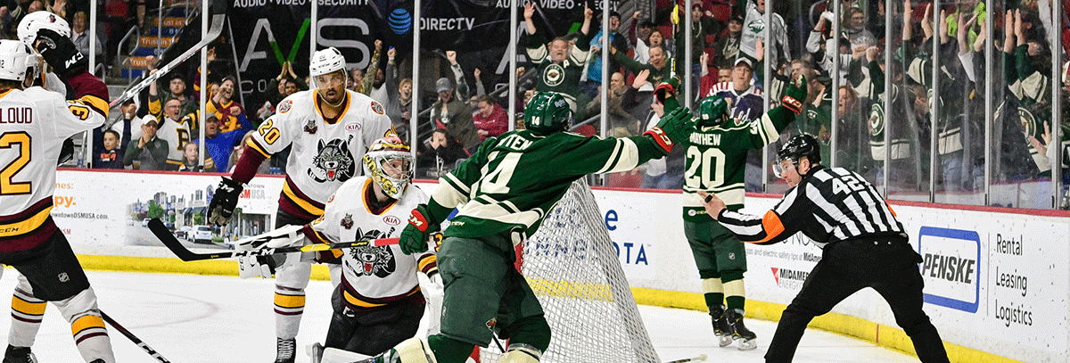 PLAYOFF RUN VALIDATING SIX YEARS OF WORK FOR IOWA WILD FRANCHISE