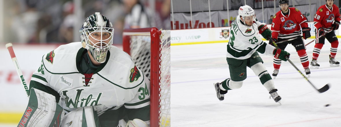 MICHALEK AND MITCHELL RE-SIGN WITH MINNESOTA