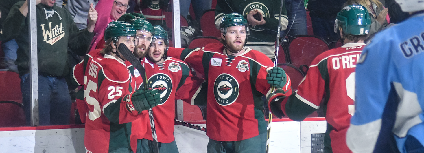 BOUGHT IN - THE SUCCESS OF THE WILD'S SPECIAL TEAMS