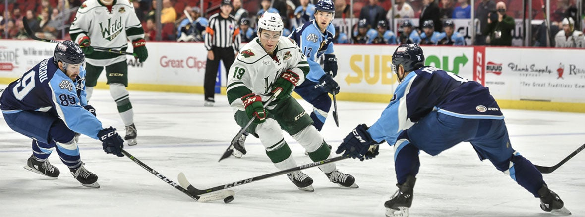 NHL ENTRY DRAFT CRUCIAL TO MINNESOTA AND IOWA WILD