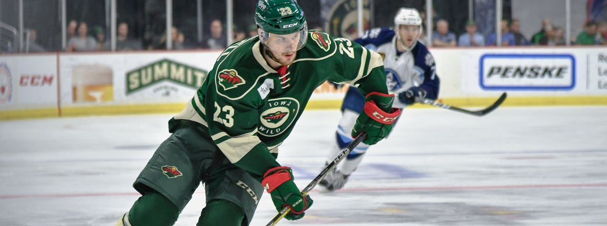 MINNESOTA WILD ASSIGNS FORWARD ZACH MITCHELL TO IOWA