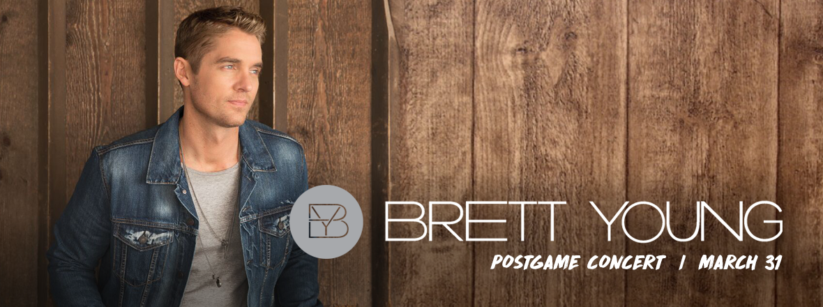 WILD ANNOUNCES BRETT YOUNG CONCERT FOR MARCH 31