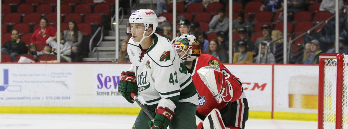AHL: Minnesota Wild - Kyle Rau On Fire For Iowa Wild And Worthy Of A Call-up?